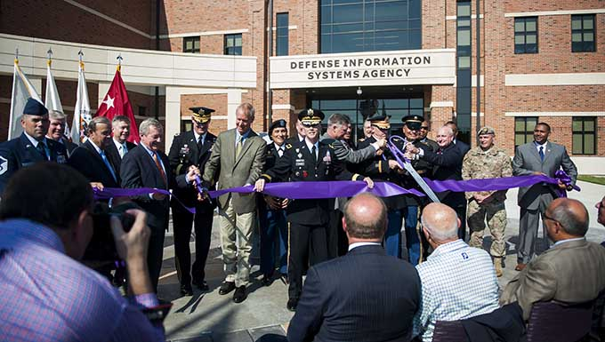 Ribbon cutting marks opening of new DISA Global facility