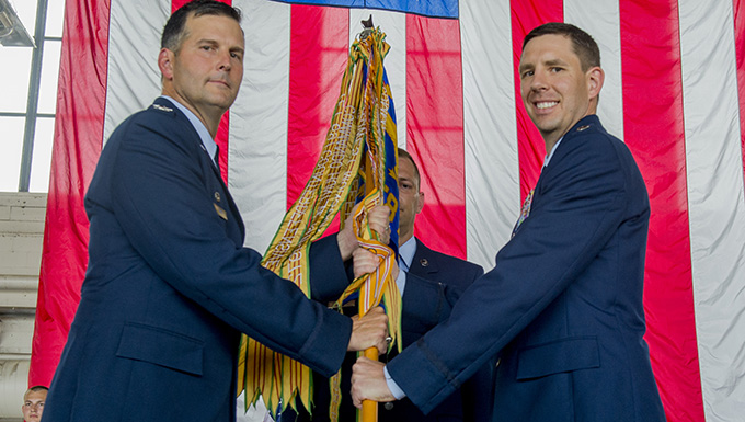 458th Airlift Squadron Change of Command
