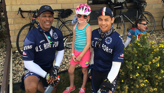 Scott's Air Force Cycling Team rides 44th Annual RAGBRAI