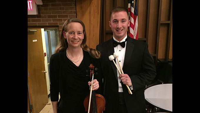 Scott Airmen hit all the right notes with Belleville Philharmonic